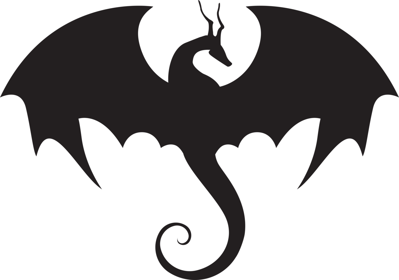 Game Of Thrones Dragon Silhouette.
