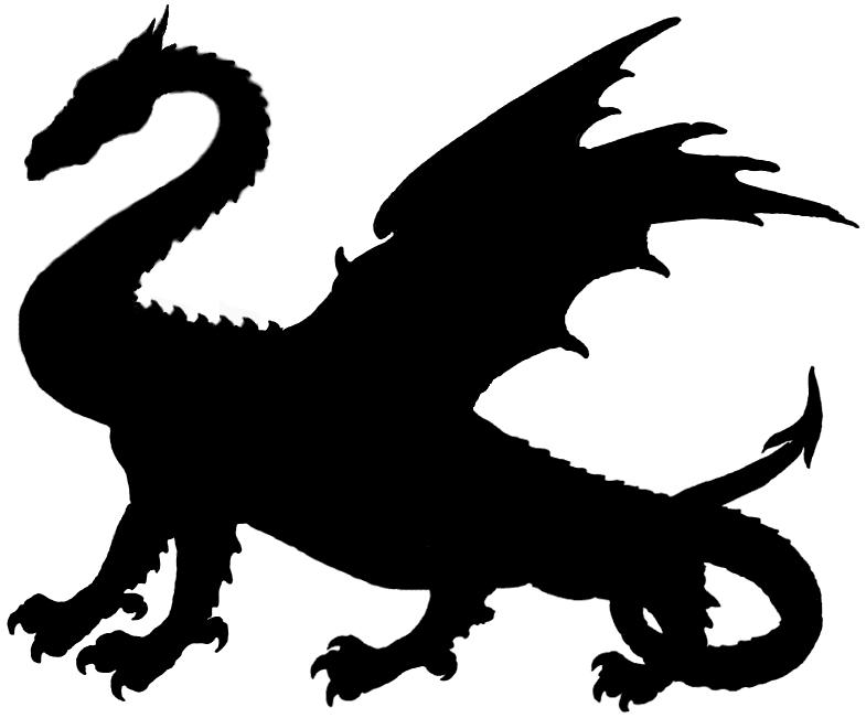 Free Dragon Silhouette, Download Free Clip Art, Free Clip.