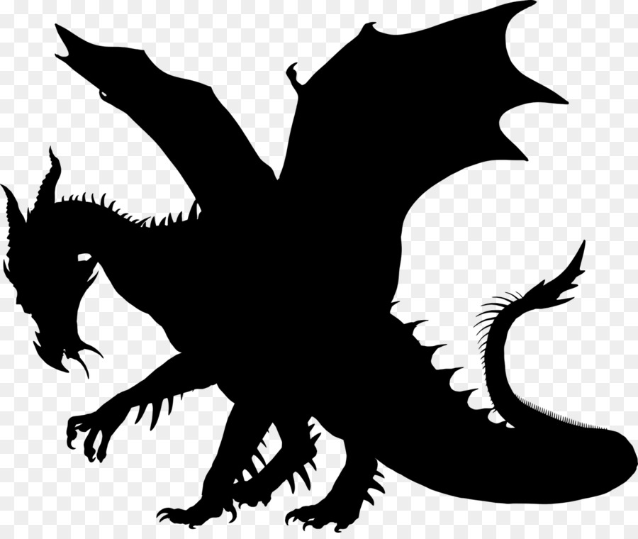 dragon silhouette png #2