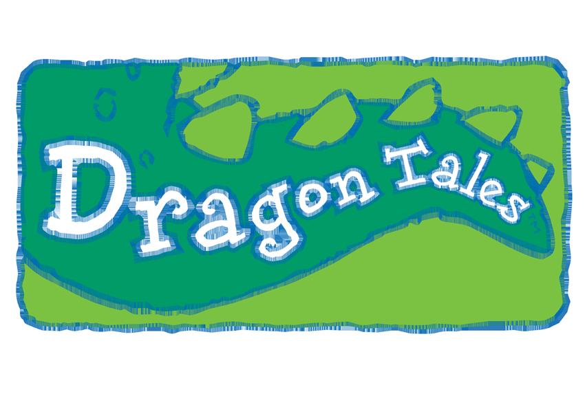 Dragon Tales Logo Clean Men\'s Tank.