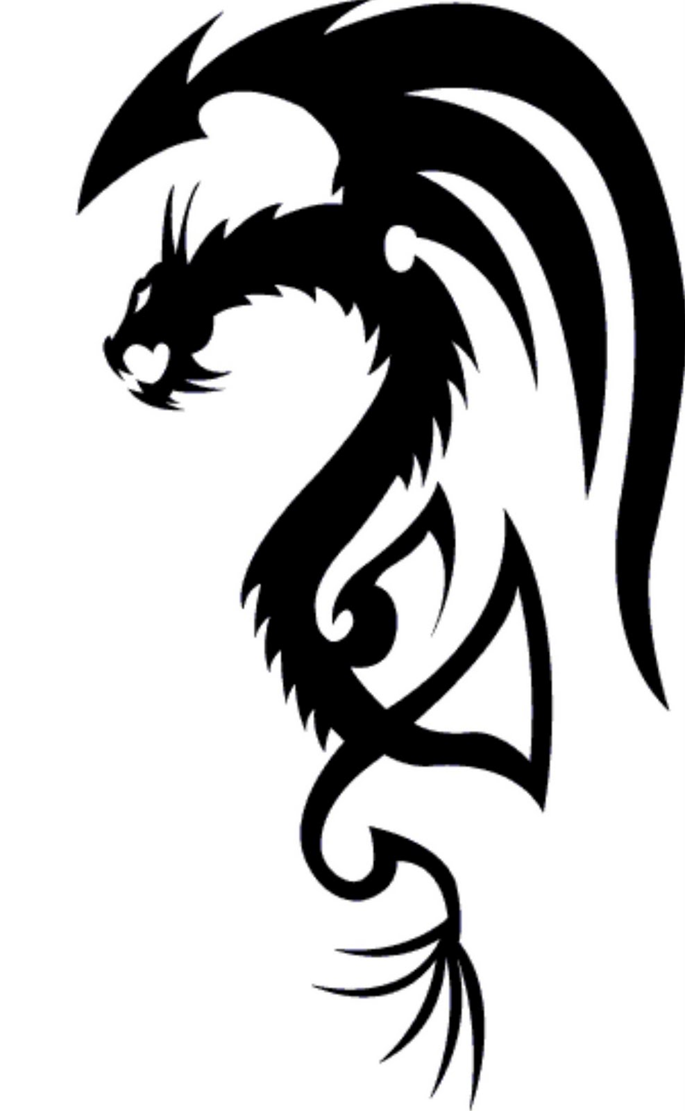 Tattoo's For > Simple Dragon Tattoos Designs.