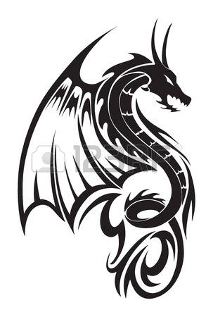 4,535 Dragon Tattoo Cliparts, Stock Vector And Royalty Free Dragon.