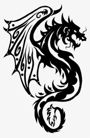 Dragon Tattoo PNG, Transparent Dragon Tattoo PNG Image Free Download.