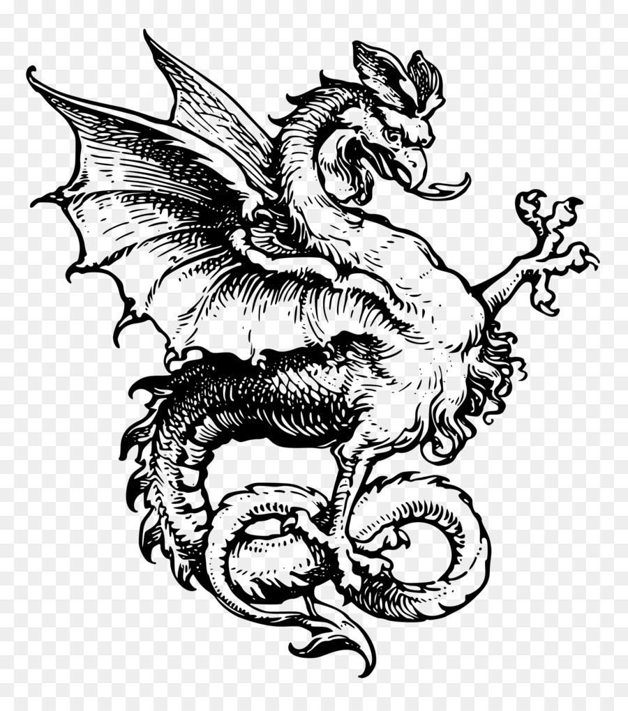 Dragon Sleeve Tattoo Dragon Tattoos Png Download 1854*2100.