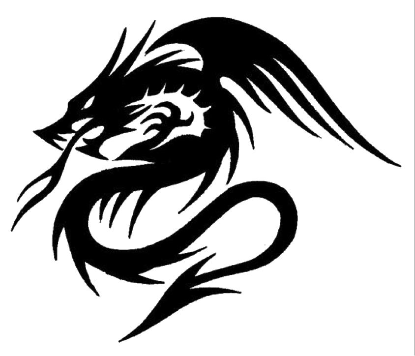 Download Dragon Tattoos PNG.