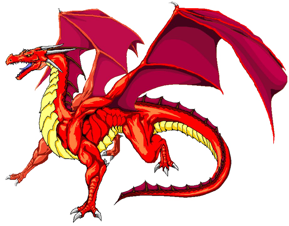 Red Dragon Transparent.