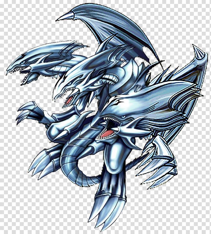 Blue Eyes Ultimate Dragon transparent background PNG clipart.