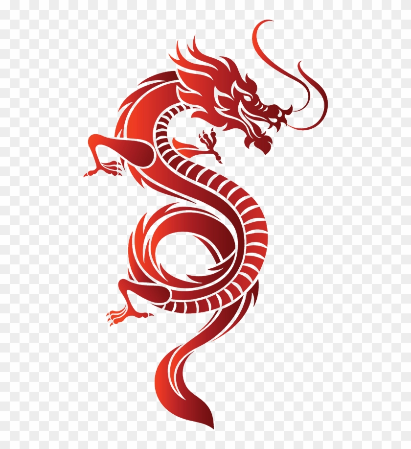 Dragon Vector, HD Png Download.