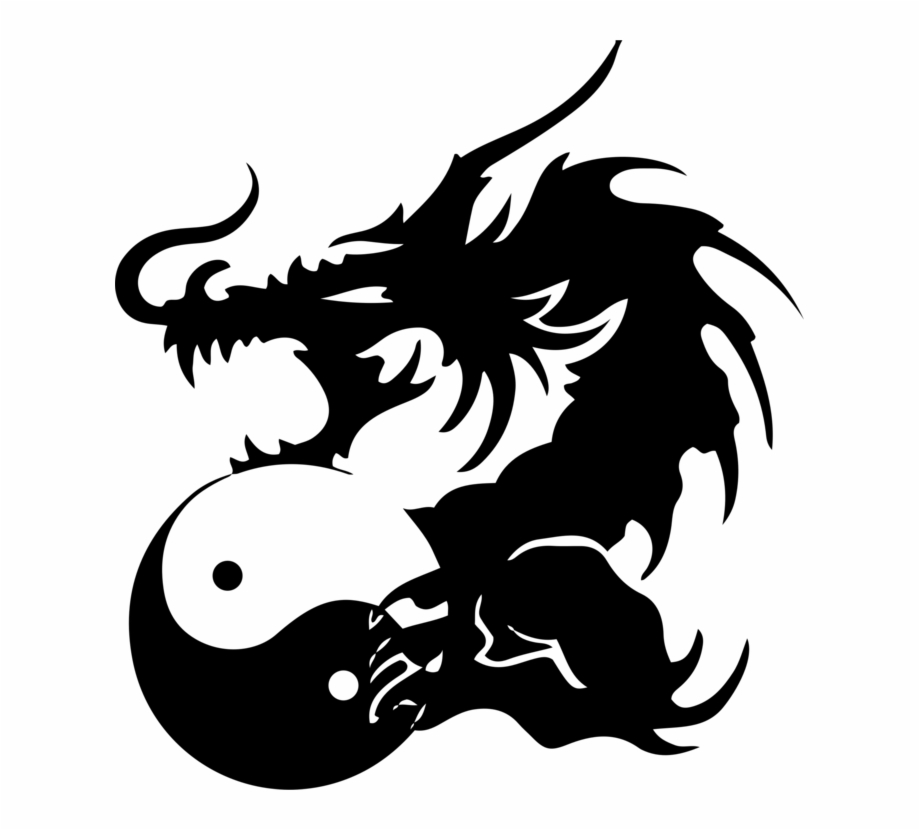 Yin And Yang Chinese Dragon Japanese Dragon Tattoo.