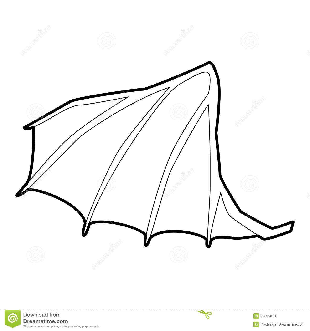 Dragon Wing Clipart.