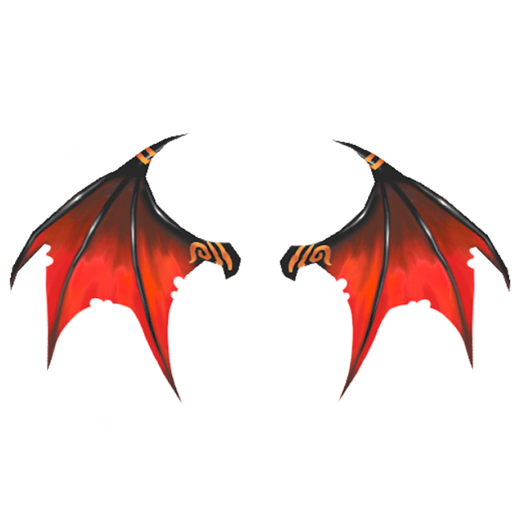 Dragon Wings PNG Clipart Background.