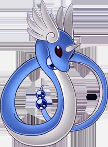 Pokemon 2148 Shiny Dragonair Pokedex: Evolution, Moves, Location, Stats.