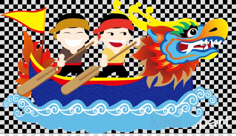 Dragon Boat Festival clipart.