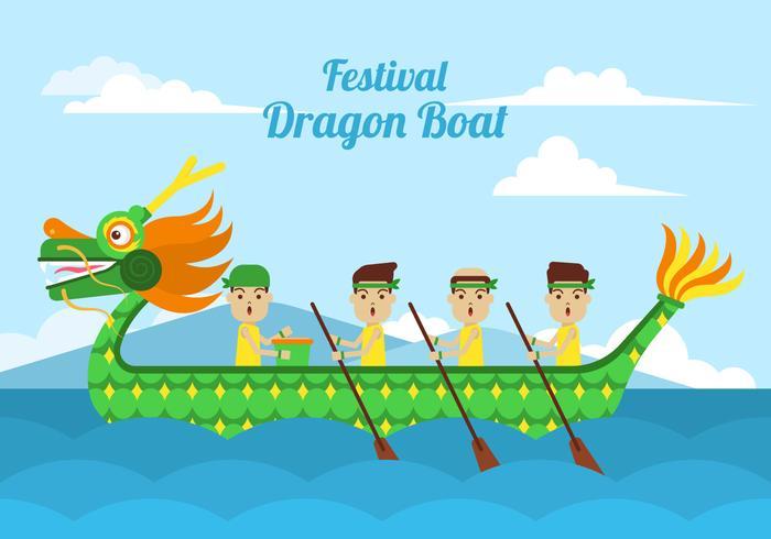 Dragon Boat Clipart.
