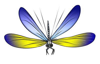 50 FREE Dragonfly Clip Art 3.