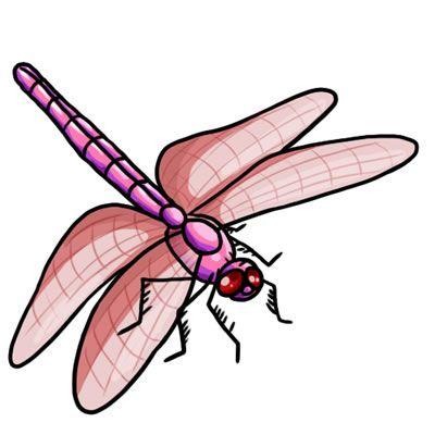 Free Dragonfly Clip Art 21.