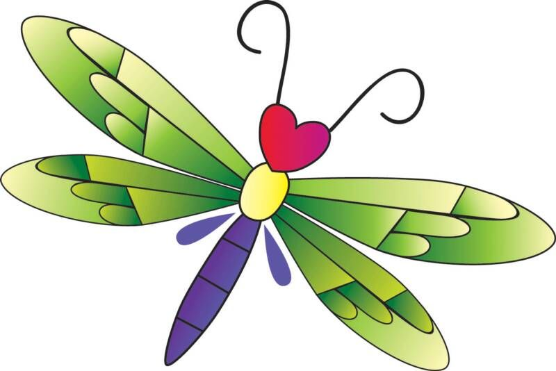 Cartoon Dragonflies.
