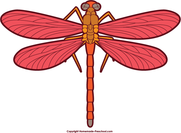 Free Dragonfly Clipart.