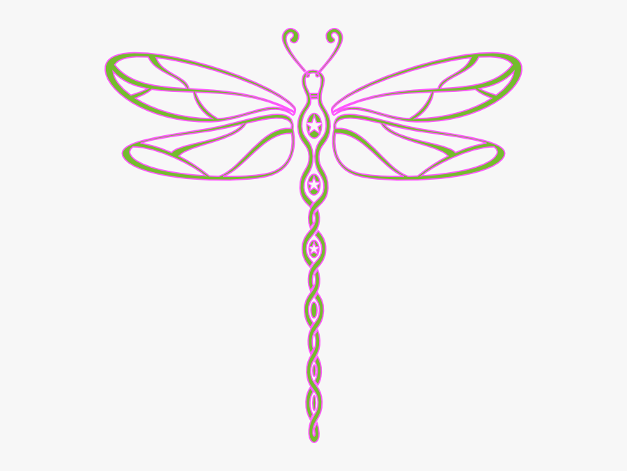 Free Dragonfly Clipart Black And White , Free Transparent.