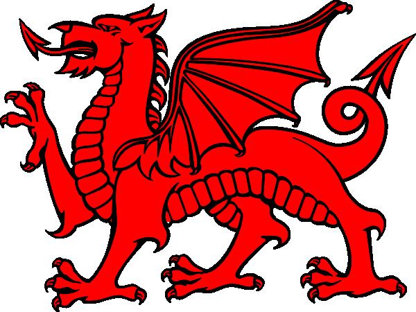 Medieval Dragon Clipart.