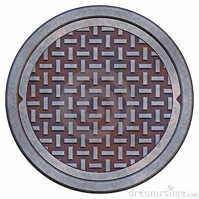 Manhole Lid Clipart.
