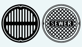 Sewer Stock Illustrations.