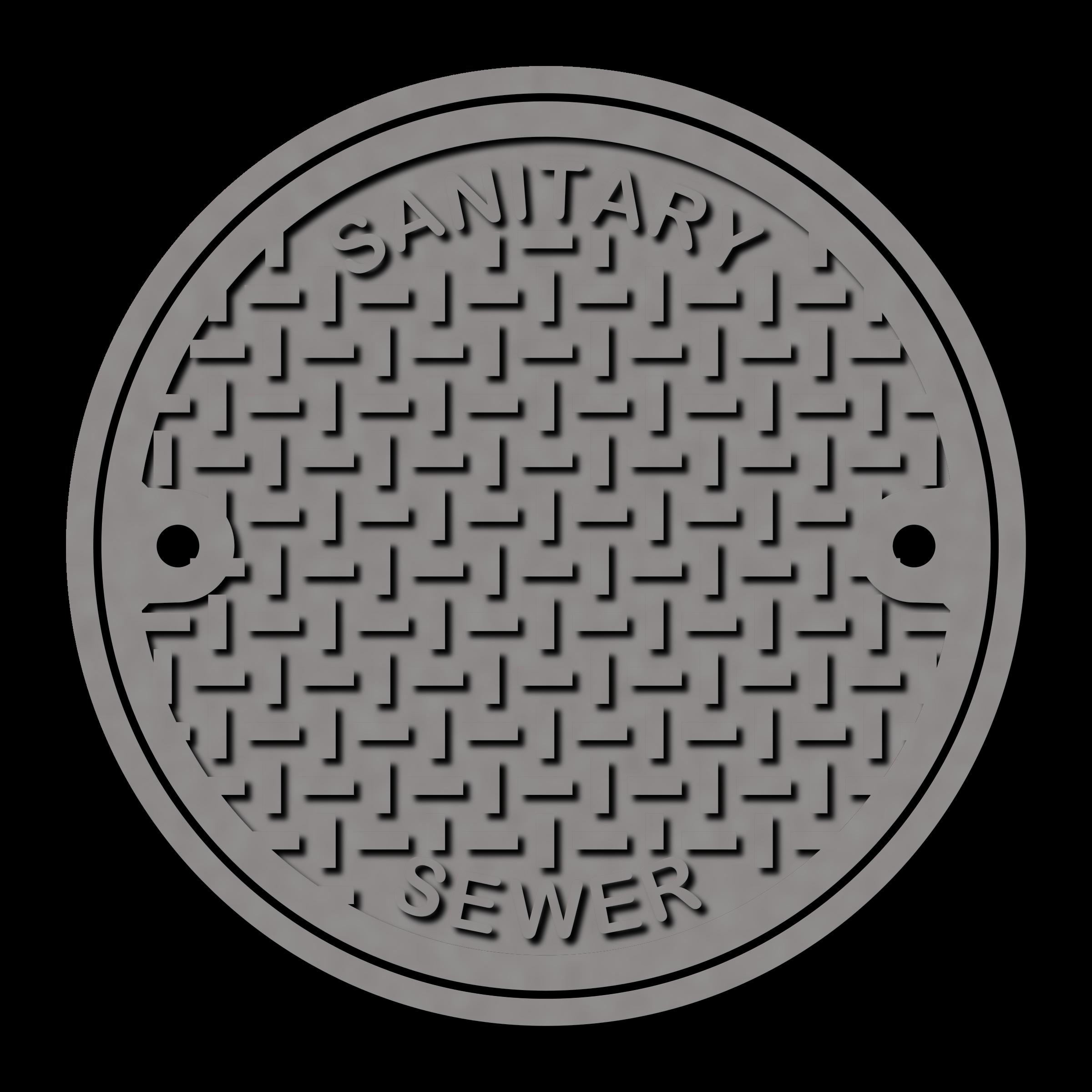 Manhole Cover Clip Art.