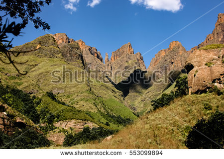 Drakensberg Stock Photos, Royalty.