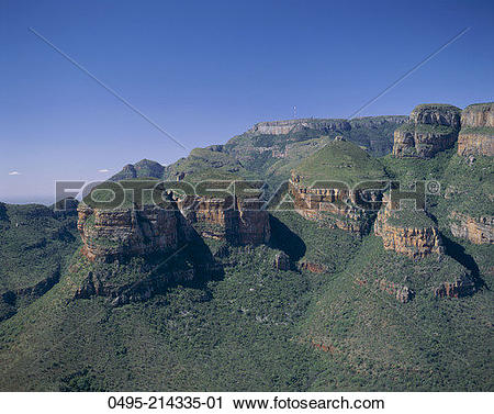 Stock Photography of South Africa, Transvaal, Drakensberg.