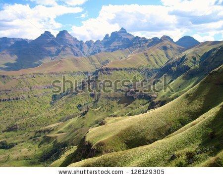 Drakensberg Mountains Stock Photos, Royalty.