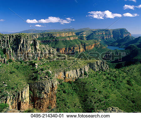 Stock Photography of South Africa, Natal, Drakensberg Mountains.