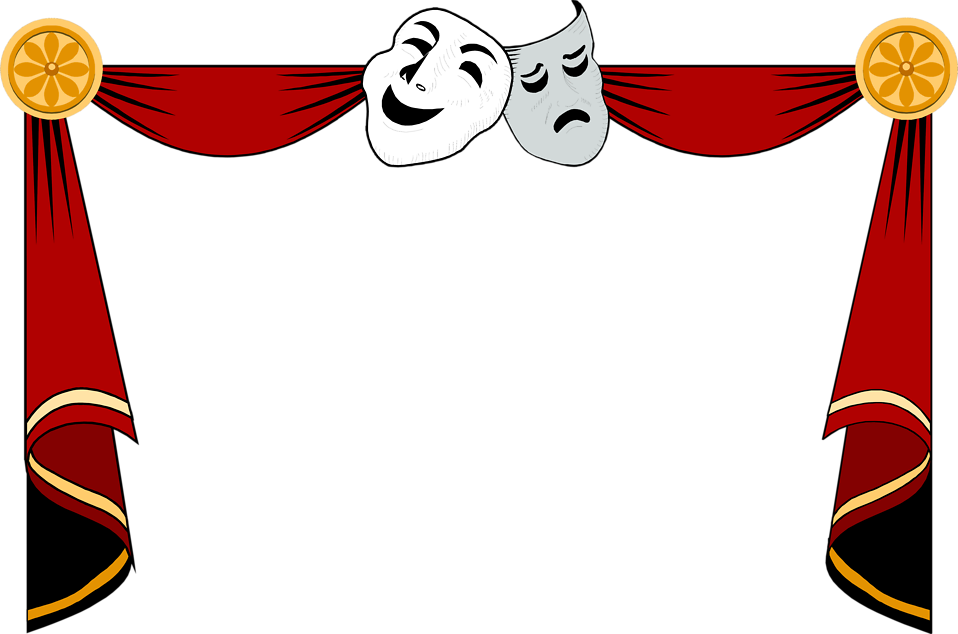 Free drama clipart images.
