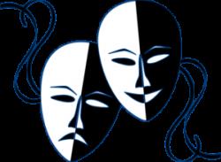 vector transparent Theatre clip art free. Theater clipart.