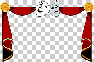 Theatre Mask Drama , Mask, tragedy and comedy masks PNG clipart.