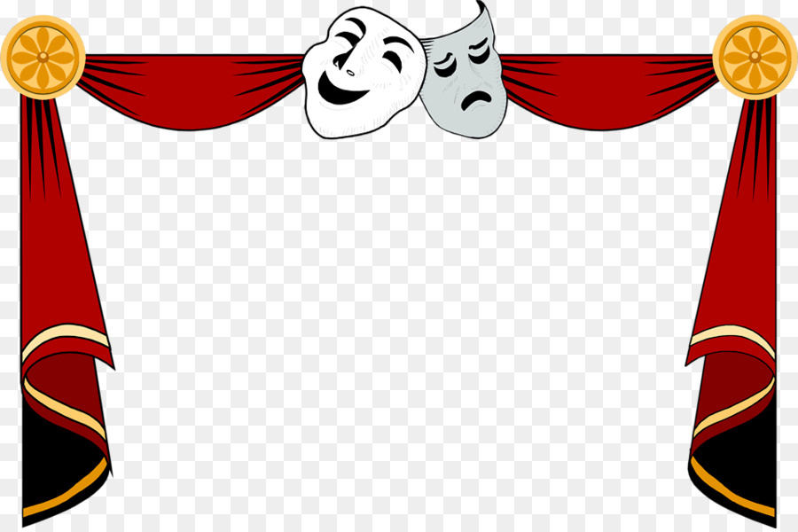 Drama Stage Clipart.