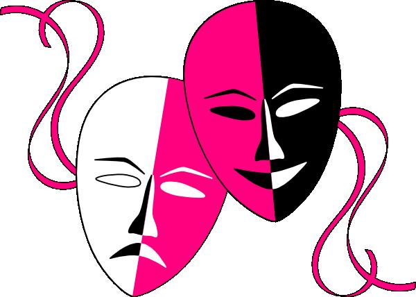 Drama Masks Clipart.