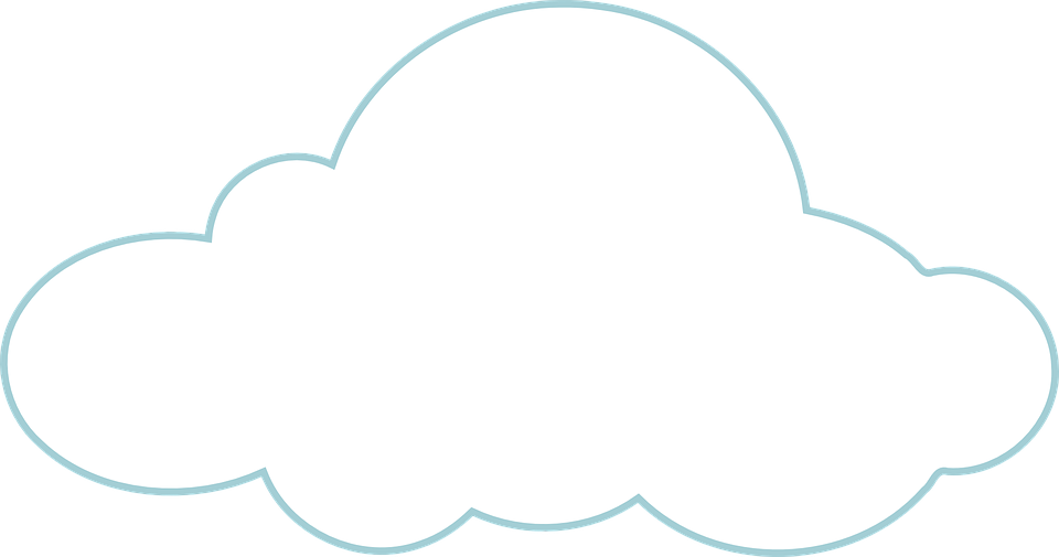 Free vector graphic: Cloud, White, Weather, Cloudy.