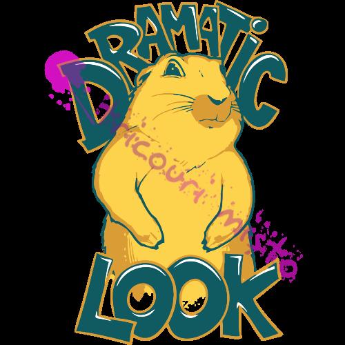 Dramatic Look.