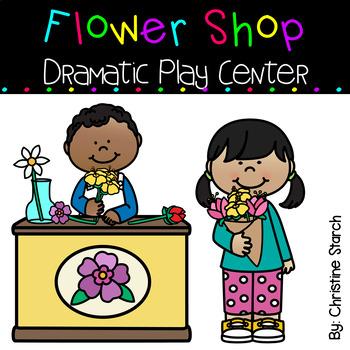 Flower Shop Dramatic Play Center.