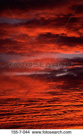 Stock Photo of , Skies, Sunset, Dramatic, Sky, Cloud, Sunrise 155.