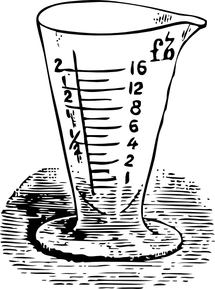Measuring Glass In Drams clip art Free Vector / 4Vector.