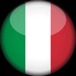 Clipart drapeau d\'Italie.