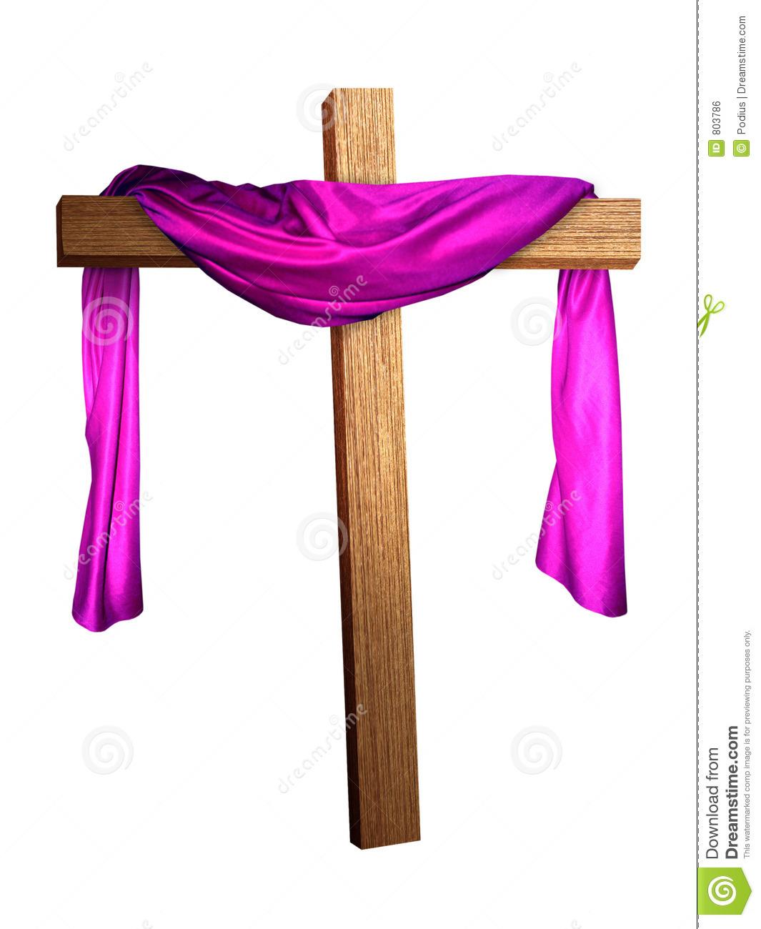 Draped Purple Clipart.