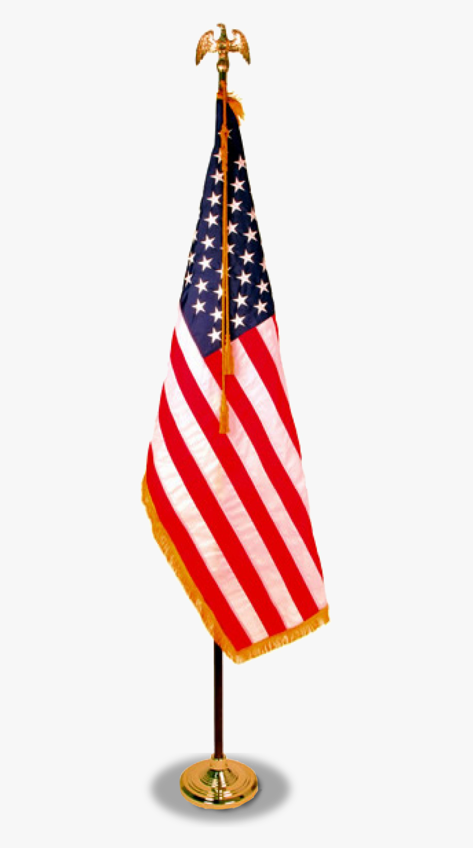 United States Of America Flag With Flagpole Rental.