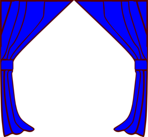 Gallery For > Clipart Drapes and Curtains.