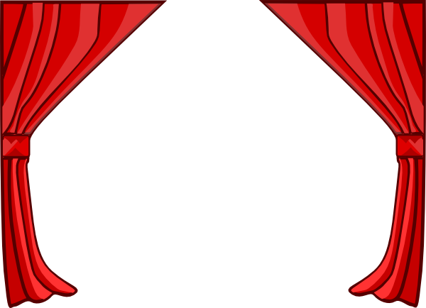 Curtain Drapes Clip Art.