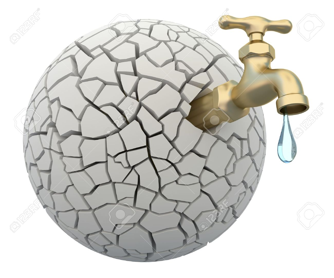 Water Drought Clip Art.