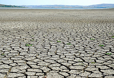 Drought Lake Bed.