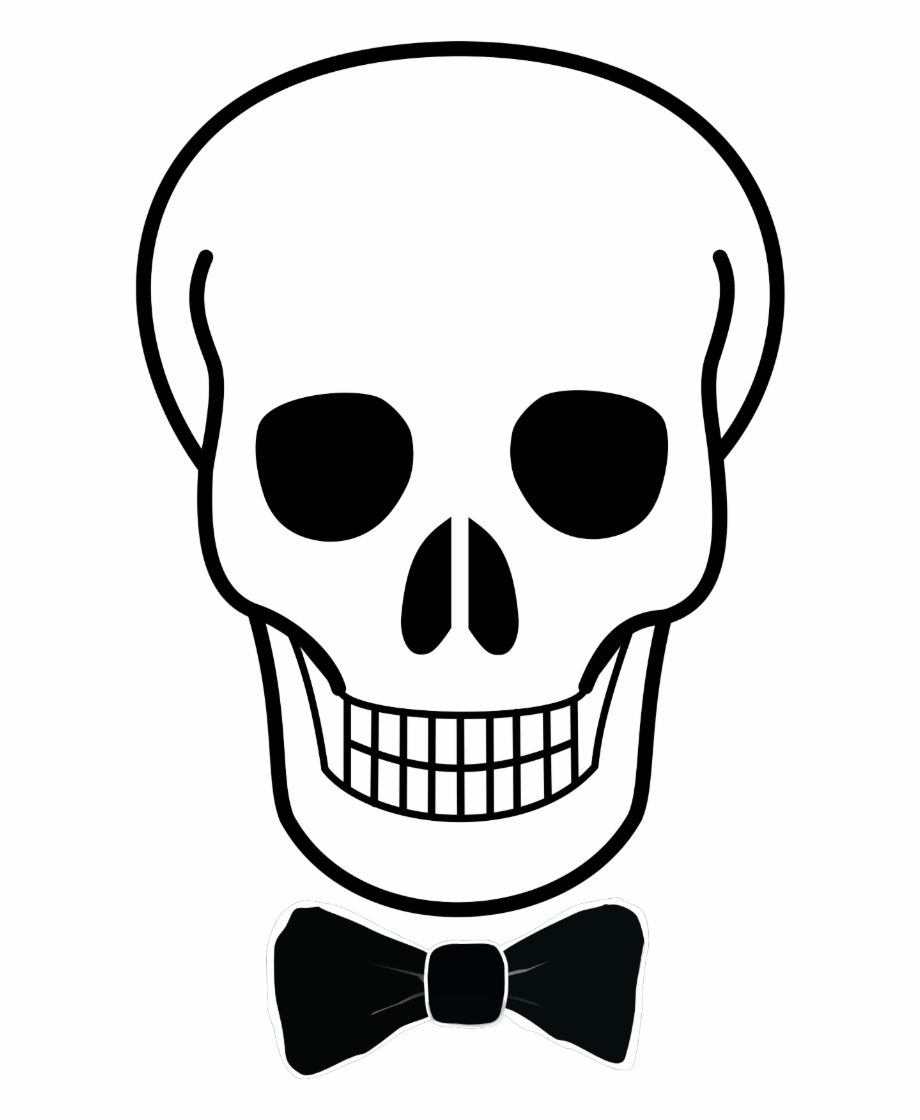Easy Simple Skull Drawing Clipart , Png Download.