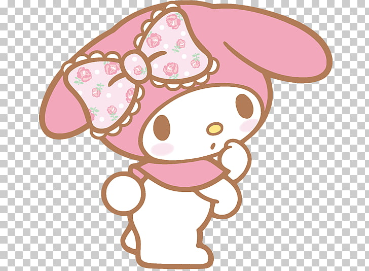 My Melody Hello Kitty Online Sanrio, draw PNG clipart.